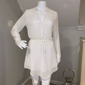 Sheer white Organza dress